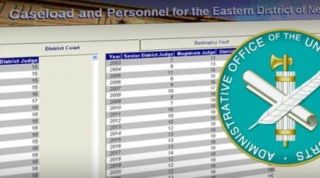 U.S. Courts: Caseload and Personnel Forecasting