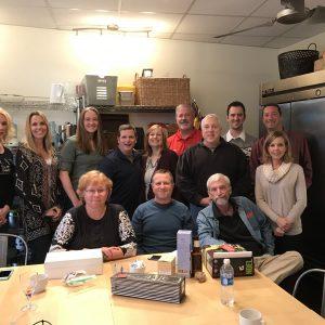 Fentress celebrates the holidays at The Kitchen Studios